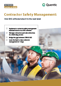Whitepaper Contractor Safety Management
